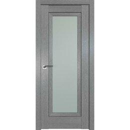 Межкомнатные двери - Дверь межкомнатная Profil Doors 2.86XN Грувд серый - со стеклом, 0