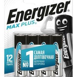 Батарейки - Элемент питания алкалиновый Max Plus LR6/316 BL4 (блист.4шт) Energizer E..., 0