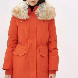 Пуховики - Calvin Klein пуховик оранжевый, 0