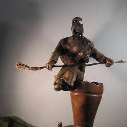 Статуэтки и фигурки - Статуетка из дерева Баба Яга, 0