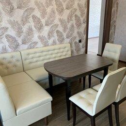 Мебель для кухни - Кухонный уголок Ричард с раскладным столом и стульями., 0