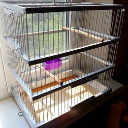 Клетки и домики - клетка для певчих птиц 40см.х26см.х45 см., 0