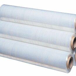 Упаковочные материалы - Стретч-плёнка пищевая, 450*300*17мкр, изготовлена из первичного сырья., 0