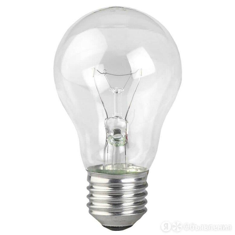 Лампа накаливания ЭРА E27 75W 2700K прозрачная A50 75-230-Е27-CL Б0039123 по цене 37₽ - Лампочки, фото 0