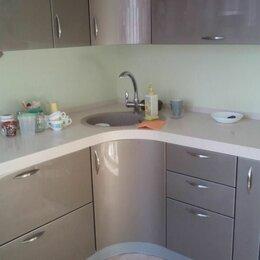 Мебель для кухни - Угловые кухни для маленькой кухни c акриловым покрытием , 0