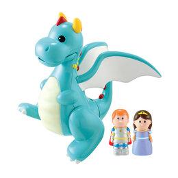 Игровые наборы и фигурки - Новыая игрушка ELC принц принцесса и дракон, 0