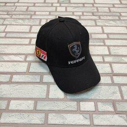 Головные уборы - Бейсболка мужская логотип Ferrari, 0