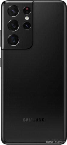 Samsung Galaxy S21 Ultra 5G 12/256GB Черный Фантом по цене 90990₽ - Мобильные телефоны, фото 0
