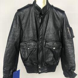 Куртки - Куртка мужская натуральная кожа карманы р.44 /11011/, 0