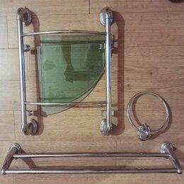 Полки, шкафчики, этажерки - Для ванной комнаты/угловая полочка и для полотенец, 0
