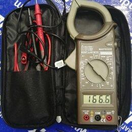 Товары для электромонтажа - Клещи токоизмерительные mastech m266c, 0