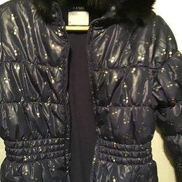 Куртки и пуховики - Куртка удлиненная на девочку 10А рост 135/143 теплая, 0