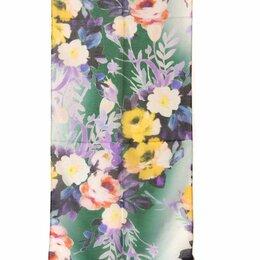 Головные уборы - Красивый шарф с цветами Club Seta 30462, 0