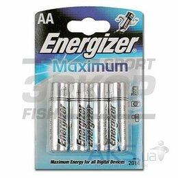 Батарейки - Элемент питания Energizer Maximum AA/LR6 FSB4 1/4, 0
