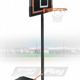 Стойки и кольца - Баскетбольная стойка Standart 090 (высота 230-305 см, р-р. щита 111x71x3 см, ..., 0