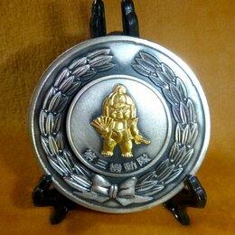 Жетоны, медали и значки - Япония Медаль Спецназ Полиция Оригинал Сохранность, 0