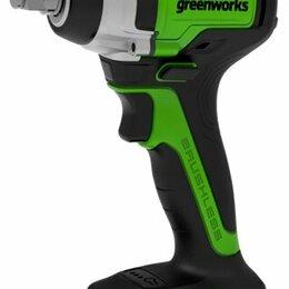 Гайковерты - Аккумуляторный ударный бесщеточный гайковерт GREENWORKS GD24IW400 (3802807) без , 0