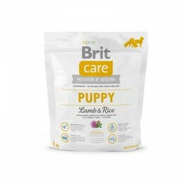 Корма  - Brit care NEW Puppy All Breed для щенков всех пород  ягненок с рисом 1кг, 0