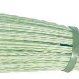 Садовые щетки и метлы - Метла полипропиленовая СИБРТЕХ круглая 190 х 380 мм, с фиксирующим ободом 632..., 0