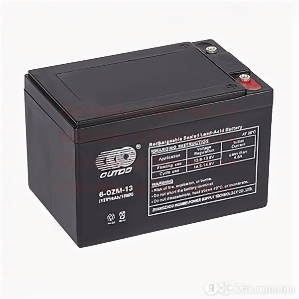 Аккумулятор гелевый OUTDO 6-DZM-13 (12В 16 Ач) по цене 2700₽ - Лабораторное и испытательное оборудование, фото 0