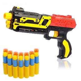 Игрушечное оружие и бластеры - Нерф бластер с мягкими пулями присосками, Оружие, покорившее сердца всех маль..., 0
