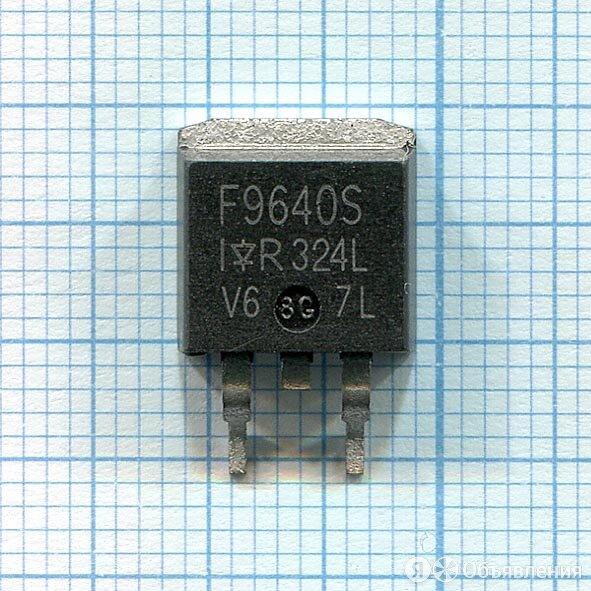 Транзистор IRF9640S по цене 43₽ - Запчасти к аудио- и видеотехнике, фото 0