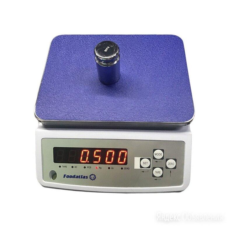 Торговые весы Foodatlas 15кг/1гр YZ-308 по цене 3351₽ - Весы, фото 0
