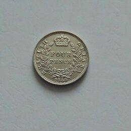 Монеты - БРИТАНСКАЯ ГВИАНА  4 пенса 1944 г.  серебро, 0