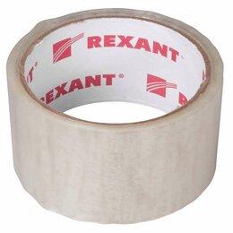 Упаковочные материалы - Скотч упаковочный 48ммx36м 50мкм прозр. Rexant 09-4201, 0