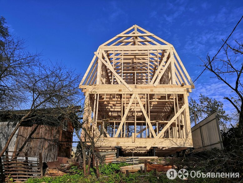 Строительство Каркасных домов и пристроек по цене 300000₽ - Готовые строения, фото 0