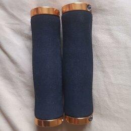 Прочие аксессуары и запчасти -   Грипсы XH-GN02BL, 130 mm, золотистые Stels, 0