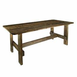 """Столы - Стол к набору """"Дачный"""" 120 см, сосна брашированный, 0"""