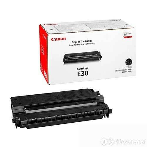 Заправка картриджа Canon E30 по цене 500₽ - Аксессуары для принтеров и МФУ, фото 0