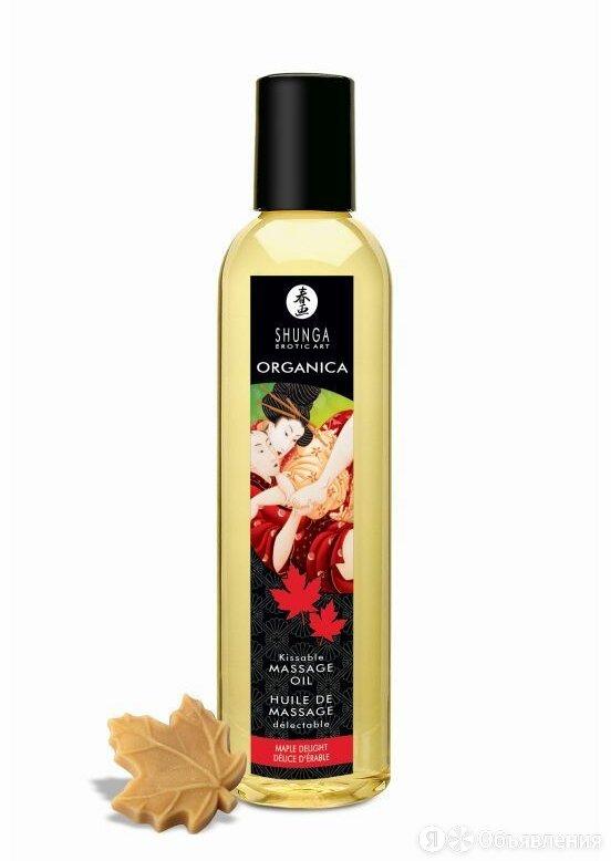 Shunga Массажное масло с ароматом кленового сиропа Organica Maple Delight - 2... по цене 2422₽ - Устройства, приборы и аксессуары для здоровья, фото 0