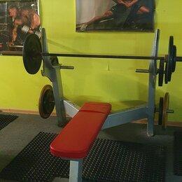 Другие тренажеры для силовых тренировок - Скамья для жима, 0