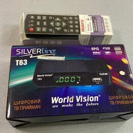 DVD и Blu-ray плееры - ТВ приставка Silver line + универсальный пульт ду, 0