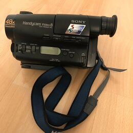 Видеокамеры - Видеокамера Sony Handycam Video 8 CCD-TR580E PAL, 0