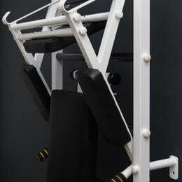 Уличное освещение - Навесное оборудование Рекорд Брусья Пресс Упор для штанги навесной, белый, 0