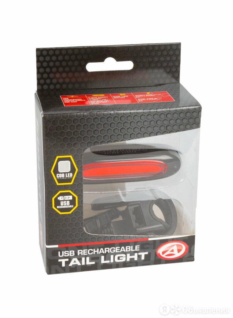 Фонарь задний AUTHOR A-Stake USВ. красный, универсальный крепеж, прорезиненый. по цене 1239₽ - Электрика и свет, фото 0