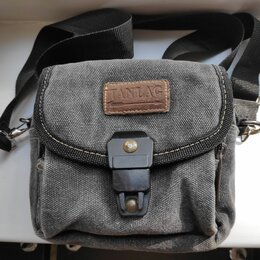 Сумки - Плечевая матерчатая мужская сумка Tanlag, 0