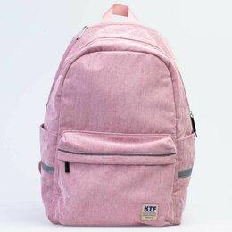 Рюкзаки, ранцы, сумки - Рюкзак школьный для девочки Котофей цвет розовый/велюр, 0