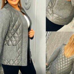 Куртки - Женская осенняя куртка на синтепоне р-ры 48-60, 0
