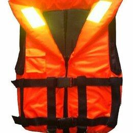 Спасательные жилеты и круги - Жилет спасательный взрослый со свистком односторонний 60 кг. Командор, 0
