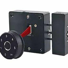 Замки и фурнитура - Электронный замок KR-S80E45 код+биометрия, 0
