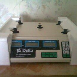Весы - Весы электронные торговые настольные delta до 35кг твн-35а, 0
