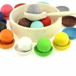 Игровые наборы и фигурки - Детские развивающие игрушки из дерева, 0