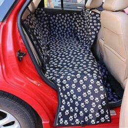 Транспортировка, переноски - Накидка на заднее сиденье, автогамак для собак , 0