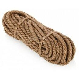 Веревки и шнуры - Канат джутовый 8мм 20м, 0