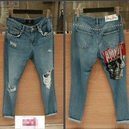 Джинсы - Крутые джинсы со стразами 25р, 0