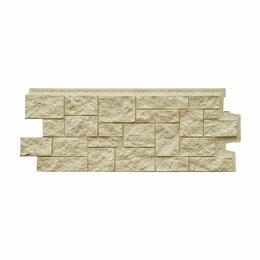 Фасадные панели - Фасадная панель Grand Line Дикий камень Стандарт Бежевый, 0